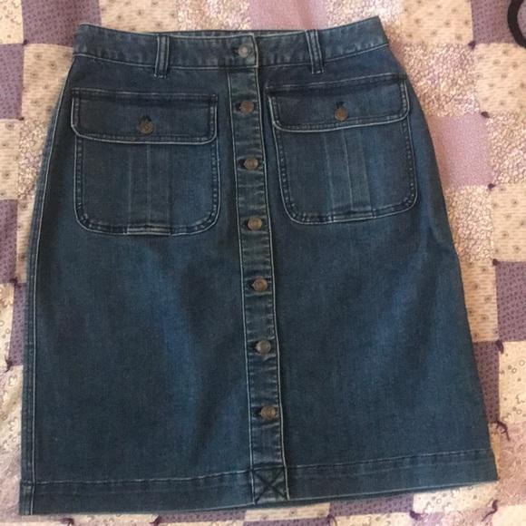 Lands' End Dresses & Skirts - Lands End denim skirt